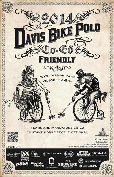 2014 Davis Bike Polo Co-Ed Friendly Tournament