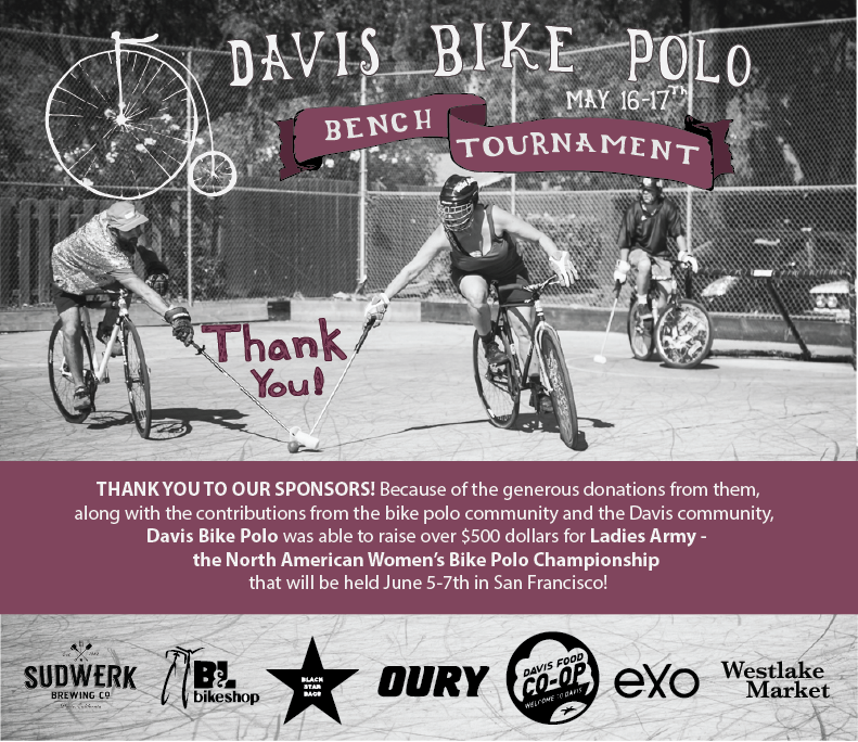 davis bike polo bench tournament 2015