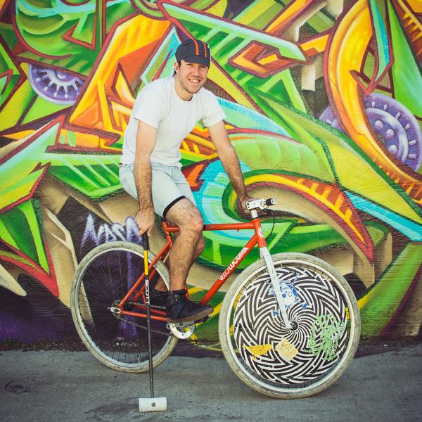 davis bike polo player
